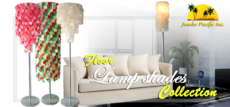 Jumbo Pacific Inc. Raw shell of capiz to home and room decorations to floor capiz lamp shades.