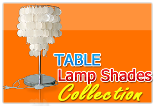 Philippine capiz Handmade Table lamp shades
