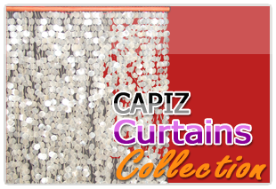 Philippine capiz curtains